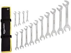 AmazonBasics Angled Wrench Set - SAE, 14-Piece