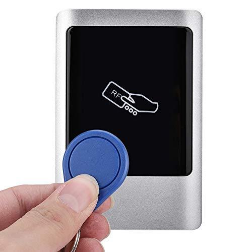Qinlorgon RFID Zutrittskontrolle türöffner, im Freien wasserdichte, RFID Reader Tür Access Management Smart Card, für Outdoor Indoor(ID: 125 kHz)