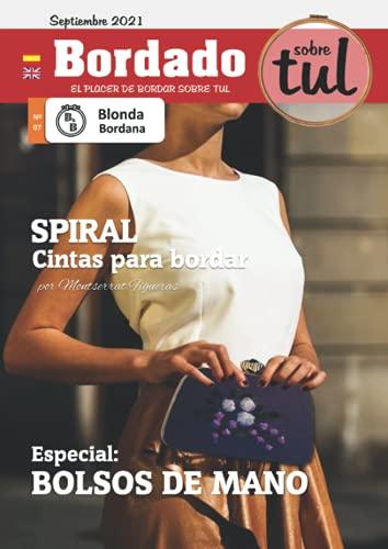 Blonda Bordana 07: Revista de bordado en tul