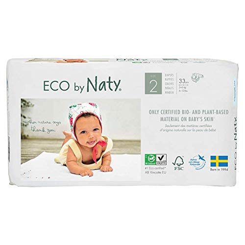 Naty Pañal N2 3-6 kg. Naty 33 U. - 400 g