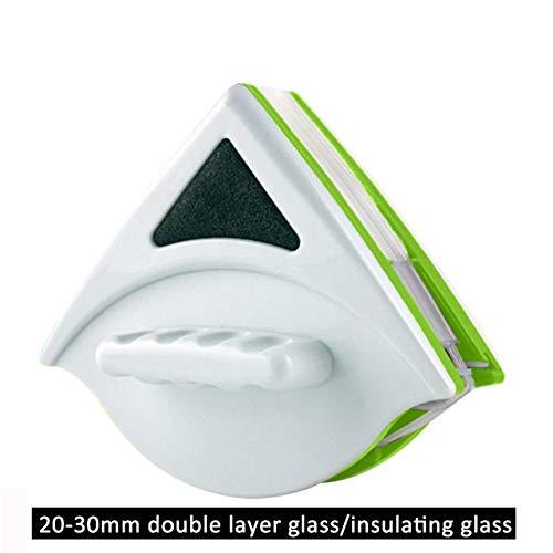 Starker magnetischer doppelseitiger magnetischer Glaswischer, Haushaltsglasreinigung Squeegees Einzel Doppel Beidseitige Fensterputzer Werkzeuge