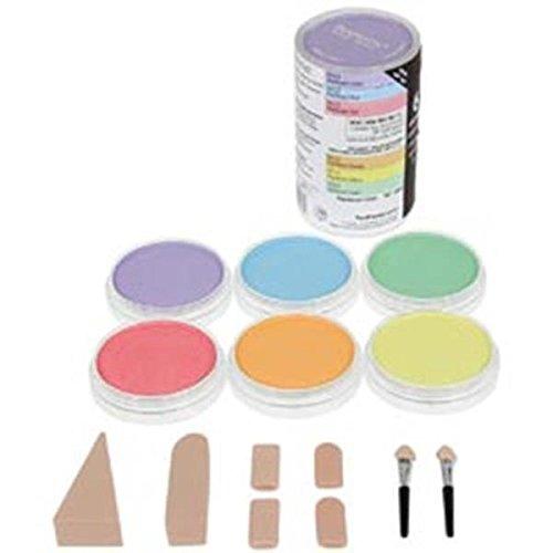 Colorfin Lot de Pastels PP30062 Ultra Doux - Peinture nacrée - 9 ML - 6 kg