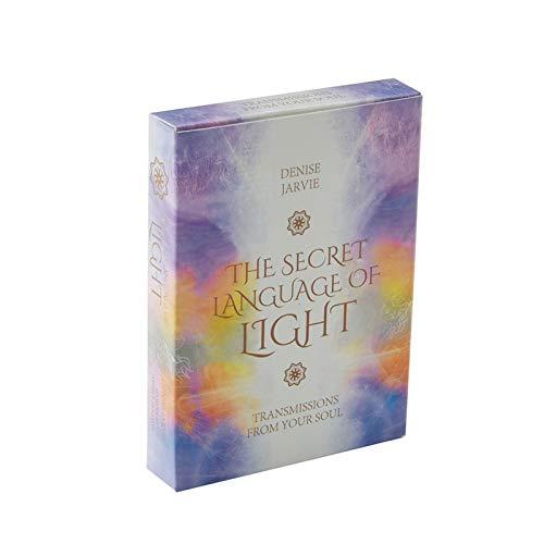 DFFH Card Tarot, The Secret Language 45 Cards Oracle Cards, Destiny Adivination Solitaire para Principiantes y lectores Expertos (versión en inglés)