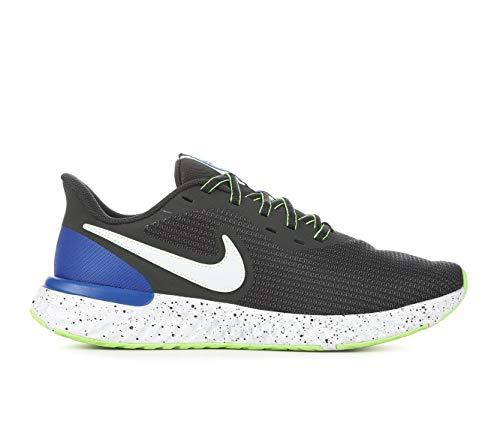 Nike Zapatillas de running Revolution 5 para hombre, Gris/Azul, 10.5 US