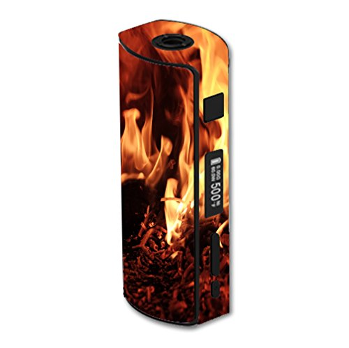Decal Sticker Skin WRAP Flaming Embers Decal Sticker NOT an Actual Vape for Eleaf iStick 60W TC