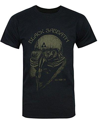 Adopteuntshirt - Black Sabbath - Us Tour 78 T-Shirt - Couleur : Noir - Taille : Xl