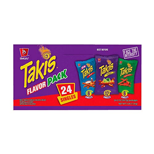 Takis Flavor Pack, 24 Count, 2 ounce bags