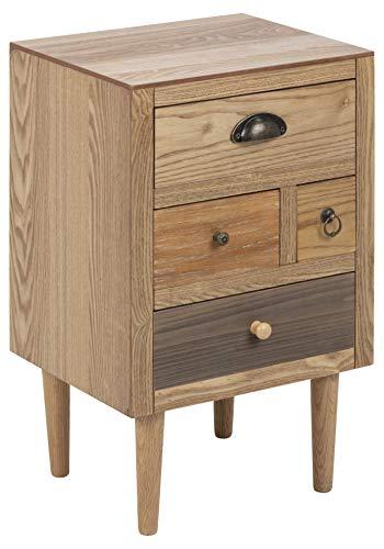 AC Design Furniture Mesilla de Noche, W: 36 x D: 30 x H: 59 cm