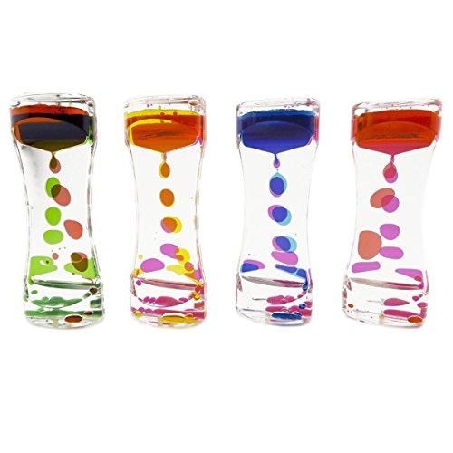 Handy Basics Liquid Motion Bubbler for Sensory Play, Fidget Toy, Children Activity, Desk Top...