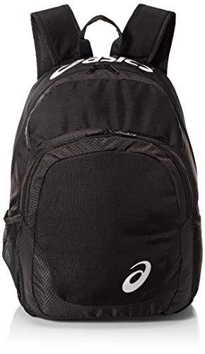 ASICS Unisex-Erwachsene Team Backpack Rucksack, schwarz/schwarz, Einheitsgröße