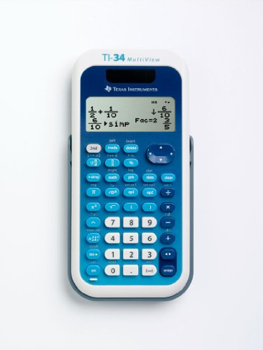 Texas Instruments TI 34XS Mulitview Calculatrice Scientifiqu