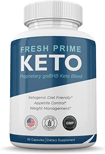 Fresh Prime Keto Pills - Proprietary goBHB Keto Blend - Weight Management - 60 Capsules (1 Month Supply) 1