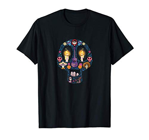 Disney and Pixar's Coco Land of the Dead Sugar Skull T-Shirt