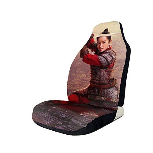 209 Funda para Asiento de Conductor Mulan, Protectores de As