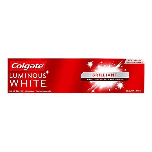 Pasta Dental Colgate Luminous White Blanqueadora 125 ML