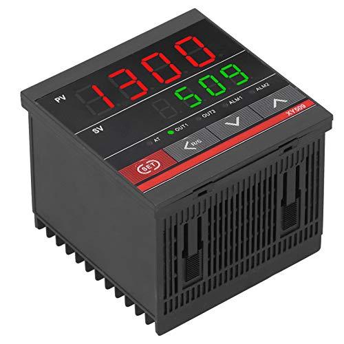 SALUTUYA Termostato Digital Pantalla Dual XY509 Controlador de Temperatura Universal Relé de calefacción y enfriamiento ABS para Control de Flujo de presión de Temperatura