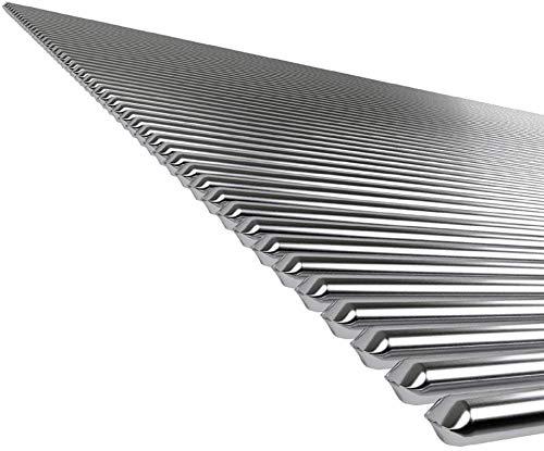 Solución Varillas con núcleo de fundente de soldadura Varilla de soldadura de aluminio estaño puro a baja temperatura, sin necesidad polvo de soldadura 50cm Relleno alambre (2.4mm, 10 piezas)