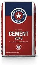 White Star 52.5R Ciment gris haute r/ésistance 1 x 25 kg