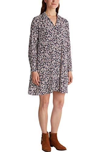 ESPRIT Damen 090EE1E330 Kleid, 403/NAVY 4, 38