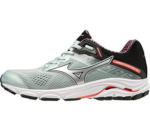 Mizuno Wave Inspire 15 Women's Running Shoes - 4.5 Silver