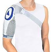 Nutrics | Aktiv Schulterbandage | Damen und Herren | Unterstützend am Schultergelenk | Designed in Germany (XL, Rechte Schulter)