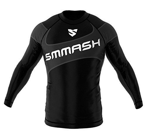 Smmash Black Jack 2.0Manga Larga MMA BJJ UFC Deportes de Lucha, Black Jack 2.0, Extra-Small