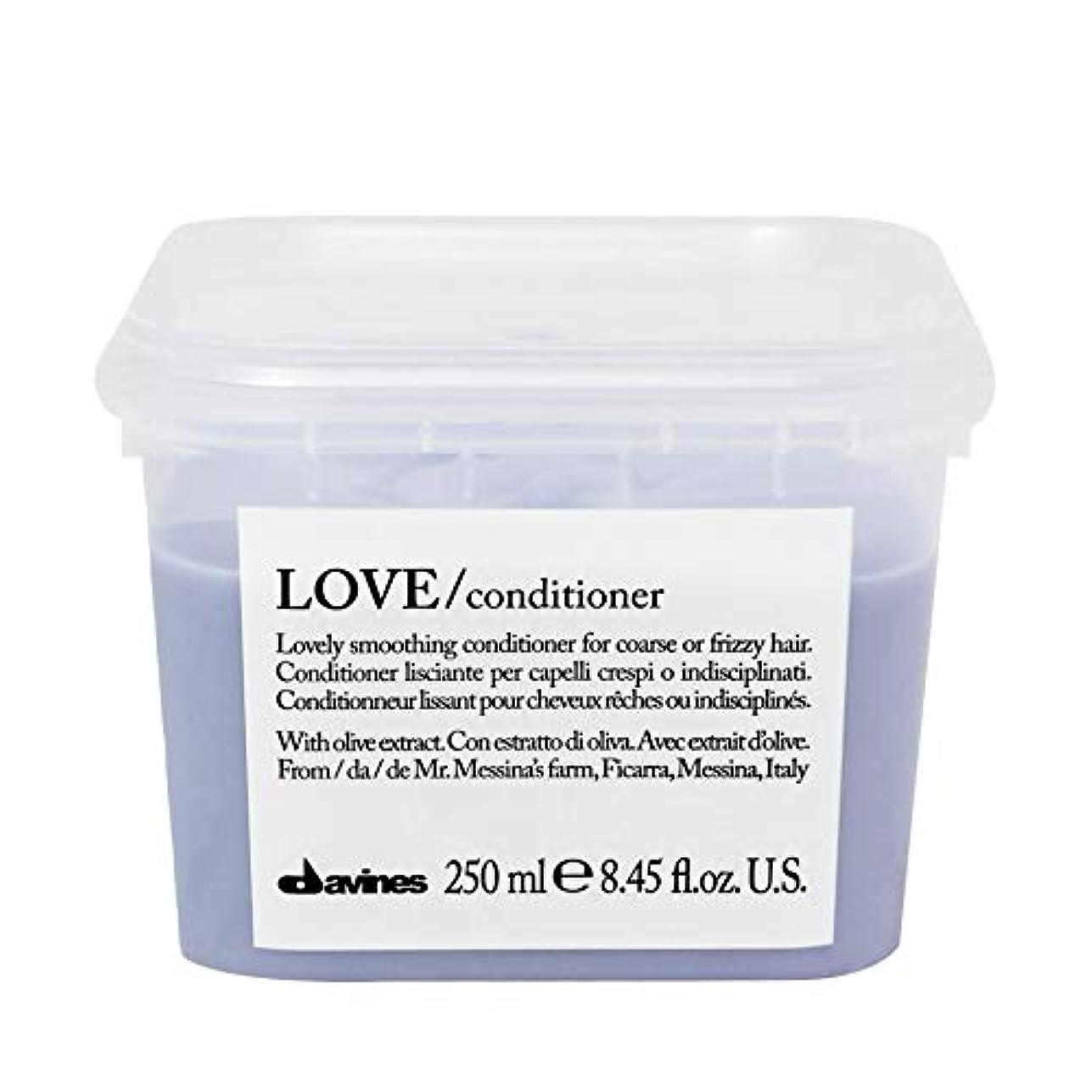 説教カナダ飲食店[Davines ] ダヴィネスラブコンディショナー250Ml - Davines Love Conditioner 250ml [並行輸入品]