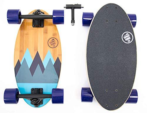Short Longboard  Summit Board Co  Mini Longboard Cruiser Range
