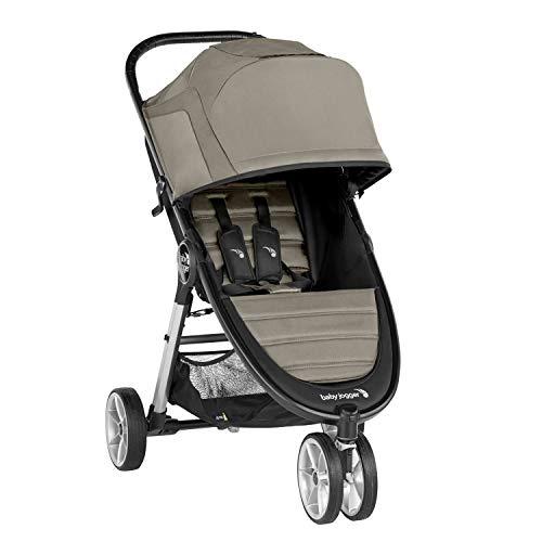 Baby Jogger City Mini 2 Stroller - 2019   Compact, Lightweight Stroller   Quick Fold Baby Stroller, Sepia