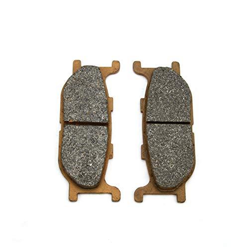 Un par de Pastillas de Freno Delanteras Xin de 102 x 41 x 10 mm para CF Moto SYM Yamaha SRV 250 XJ600 S XVS 650 XVS 950