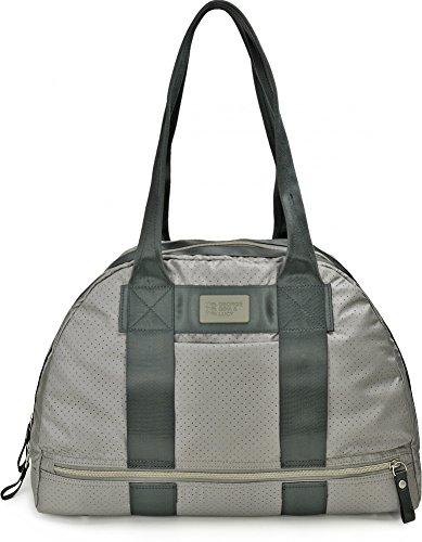 GEORGE GINA & LUCY, Damen Handtaschen, Bowling Bag, Schultertaschen, Henkeltaschen, 46 x 27 x 17 cm (B x H x T), Farbe:Grau