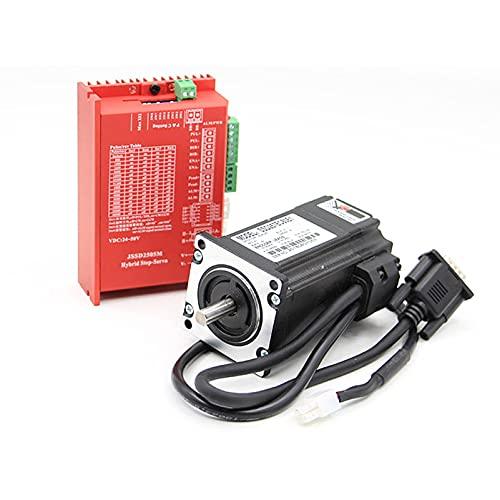 QWERTOUR 2.2n.m Closed-Loop-Schrittmotor-Kits 2.0 nm Schrittmotor und Treiber/Servo-Motor-Kits