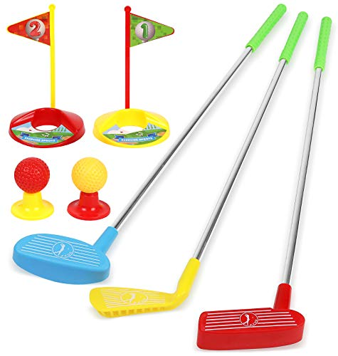 TeganPlay Kids Golf Clubs Set Toy for Toddlers