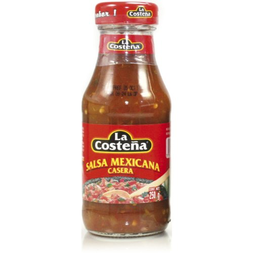 La Costena Original mexicanische Salsa Casera , 4er Pack (4 x 250 g Glas)