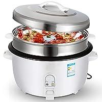 商用ハイパワー炊飯器、アルミニウム合金ノンスティック電気圧力鍋、8-45Lホテル食堂家庭用大容量炊飯器調理高圧 (Color : White, Size : 13L)