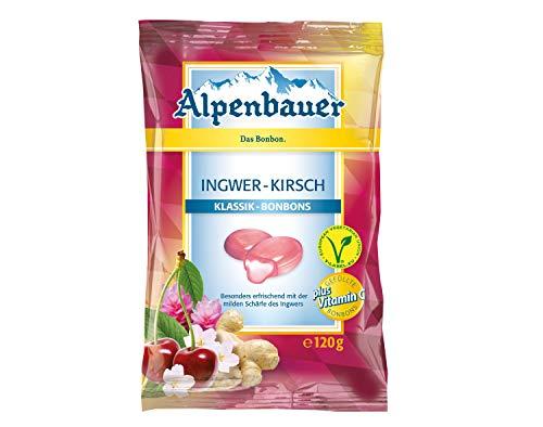 Alpenbauer Klassik Ingwer Kirsch Bonbons
