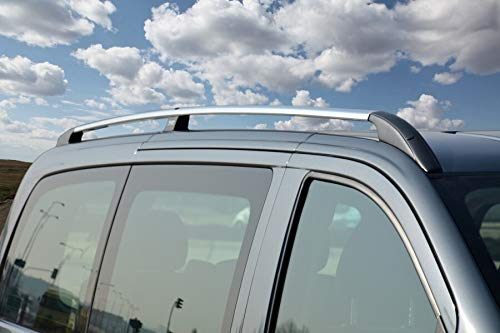 Dachreling passend für Mercedes V-Klasse Lang W447 ab Baujahr 2014 in Chrom-Optik mit TÜV und ABE