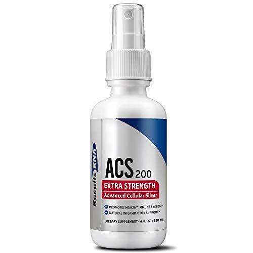 ACS 200 Erweitert Zellular Silber, 4 Unzen, 120 ml durch Results RNA