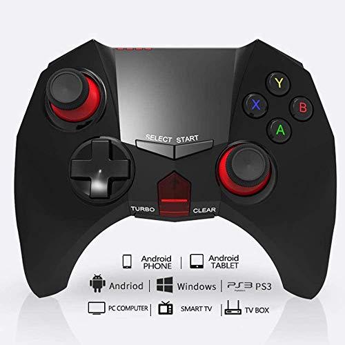 JIN GUI 2,4 G Profession Wireless Controller, benutzerdefinierte Tasten 10 m PS3 Bluetooth Gamepad 3D Joystick Dual Vibration Game Controller - Präzise Positionierung