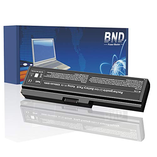 BND 5200mAh PA3817U-1BRS Replacement Battery for Toshiba PA3819U-1BRS Toshiba Satellite L600 L675 L675D L700 L745 L750 L750D L755 L755D M640 M645 P745 - [6-Cell Li-ion]