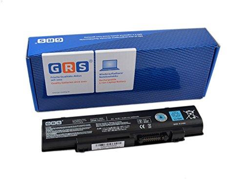 GRS Batterie pour Toshiba Qosmio F60, F750, F755, dynabook Qosmio T751, T851, remplacé: PA3757U-1BRS, PABAS213, Laptop Batterie 4400mAh 10,8V