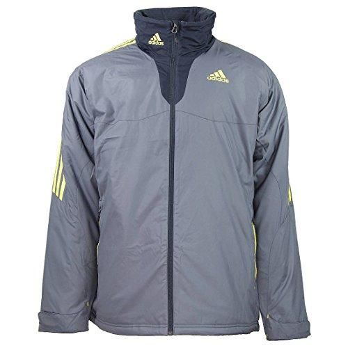 adidas Universal Allwetter Jacke M Herren grau, Bekleidungsgröße:S