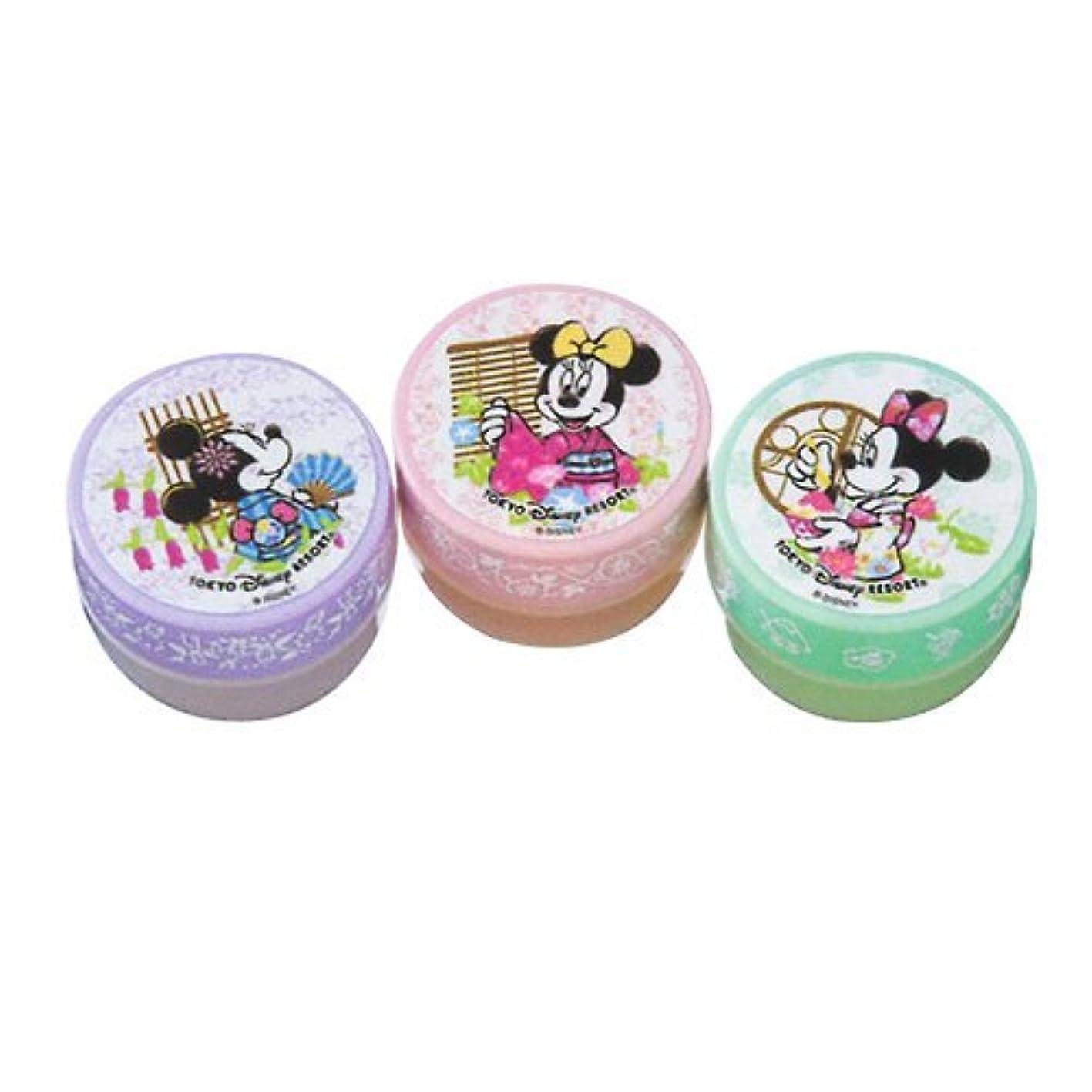 中央値肥沃なディスコミニーマウス ハンドクリームセット 浴衣柄 【東京ディズニーリゾート限定】