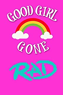 GOOD GIRL GONE RAD: A Gratitude Journal to Win Your Day Every Day, 6X9 inches, on Bright Pink matte cover, 80s 90s Theme, 111 pages (Growth Mindset Journal, Mental Health Journal, Mindfulness Journal, Self-Care Journal) for women girls teens