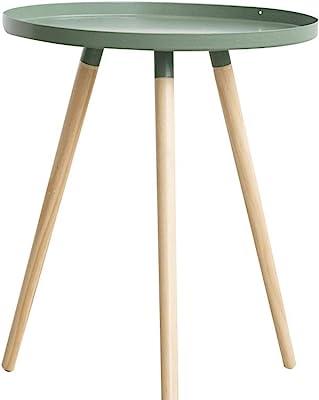 ベッドルームトレイ表、表小地域イージーキャリーサイズダイニング木製トライアングル表外出ピクニック小さなアパート:42 * 50CM (Color : C, Size : 42*50CM)
