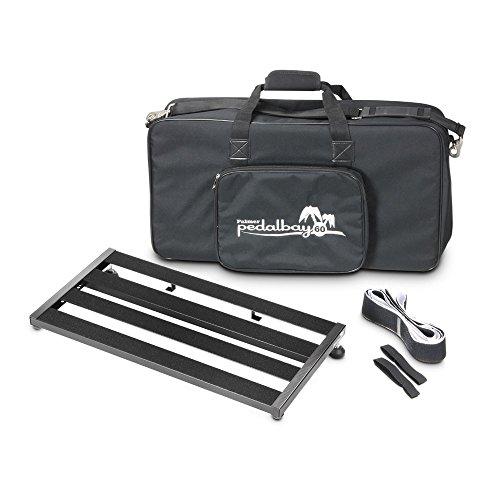 Palmer MI PEDALBAY 60-Variables - Pedana per effetti a pedale, con borsa per il trasporto imbottita, 60 cm