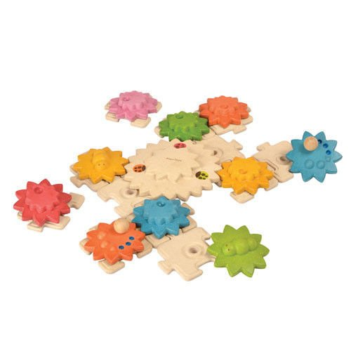 Plan Toys Gears and Deluxe Puzzles