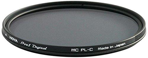 Hoya 62mm Pro-1 Digital Circular Polarizing Screw-in Filter, Black