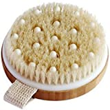C.S.M. Body Brush for Wet or Dry Brushing - Gentle Exfoliating for...