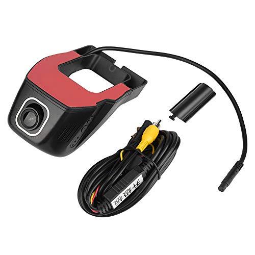 Alinory Car Video Recorder, Wifi Full HD 1080P Car DVR Video Recorder Dash Camera Driving Recorder Versión nocturna